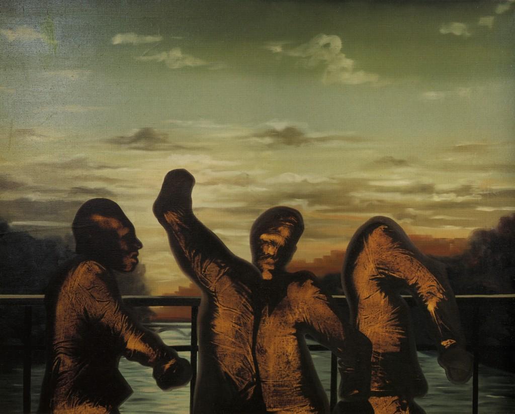 Le Pont des Arts - Olio su tela - 150 x 200 cm