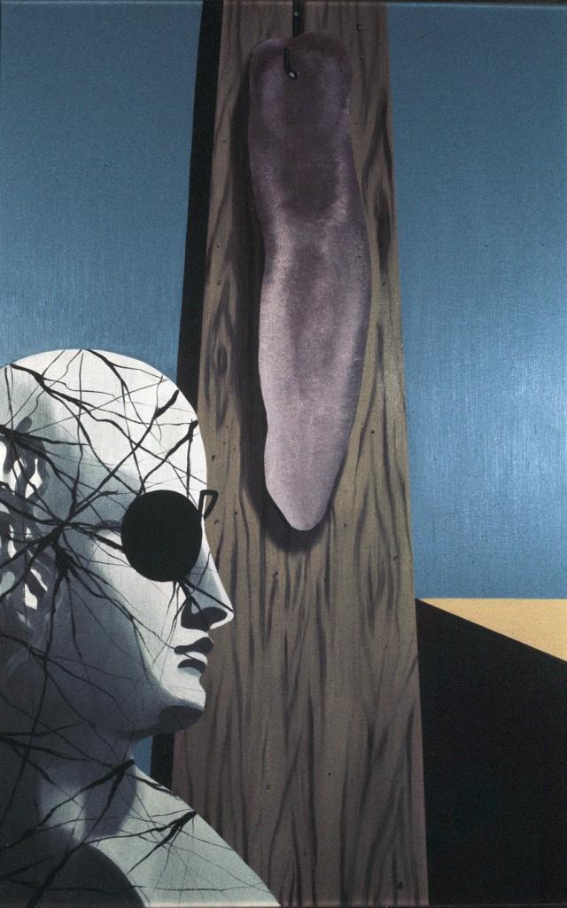 Il Sogno del Poeta - Olio su tela - 100 x 65 cm