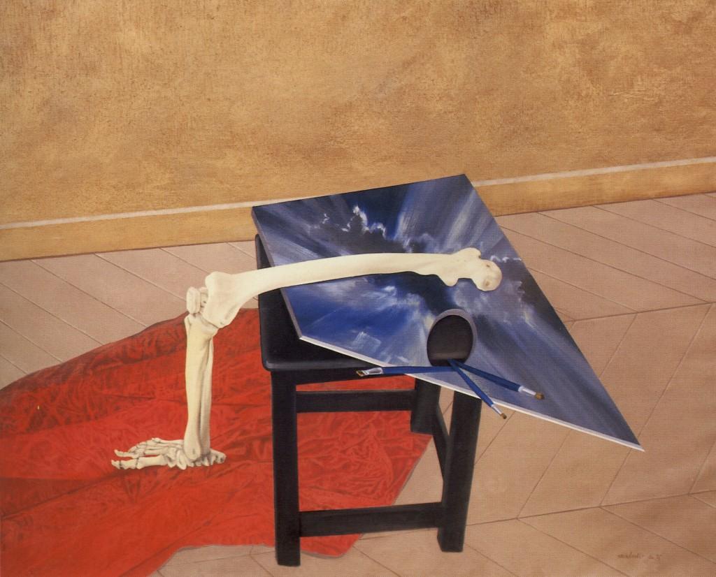 Olio su tela - 114 x 146 cm