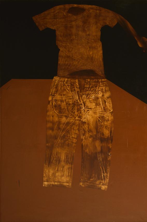 Olio su tela - 195 x 130 cm