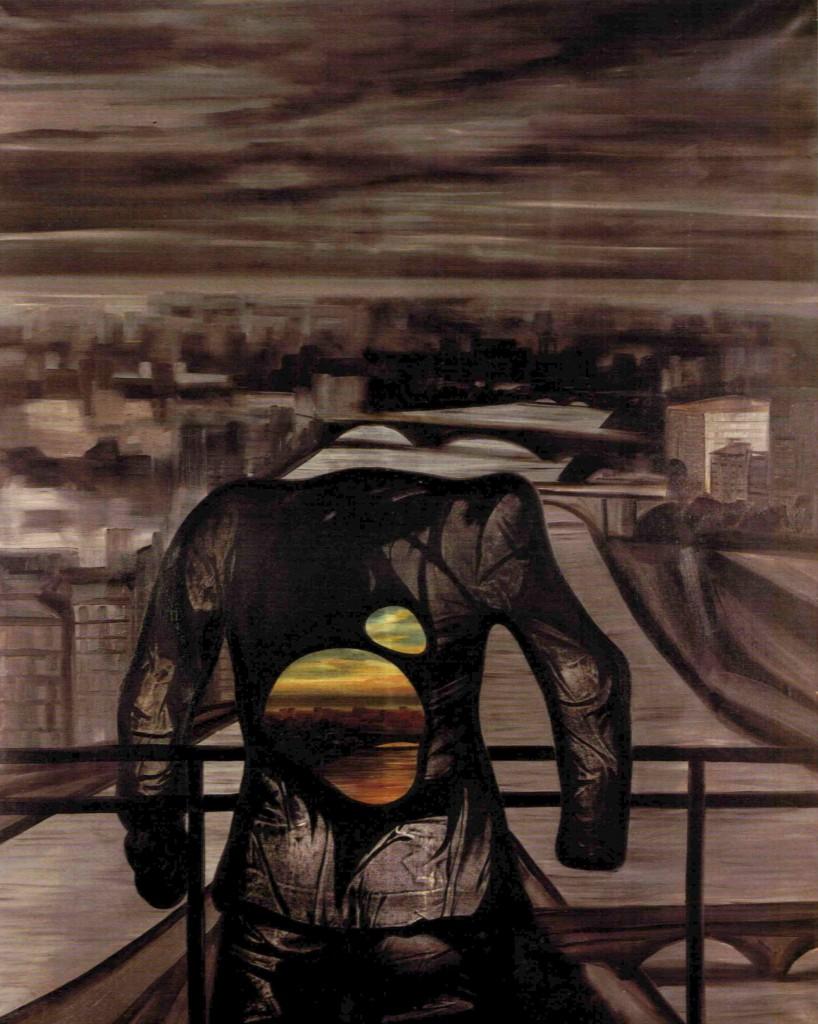 La Seine - Olio su tela - 180 x 210