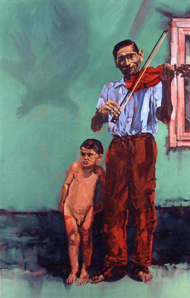 La passione della libertà - Olio su tela - 150 x 100 cm