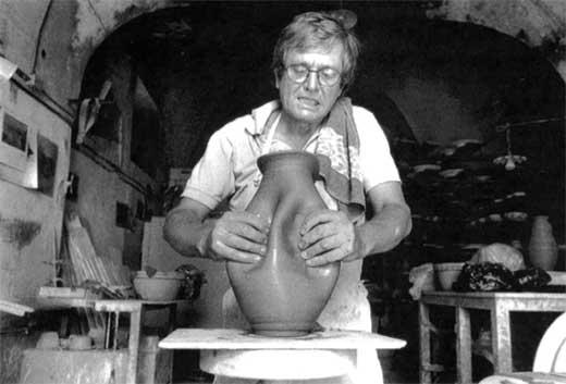 Albisola 1990 - 1992 nella Manifattura di Ceramiche San Giorgio